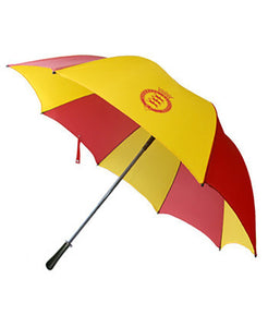 Goodwood Racecourse Stubbs Horses Red Yellow Umbrella