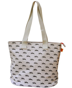 Goodwood Racecourse Stubbs Horses Tote Bag