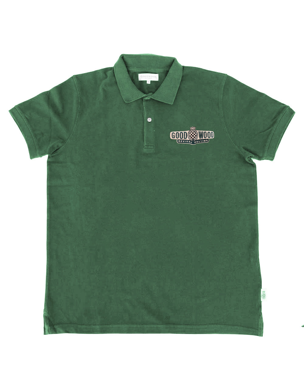 Goodwood Revival Green Polo Men's