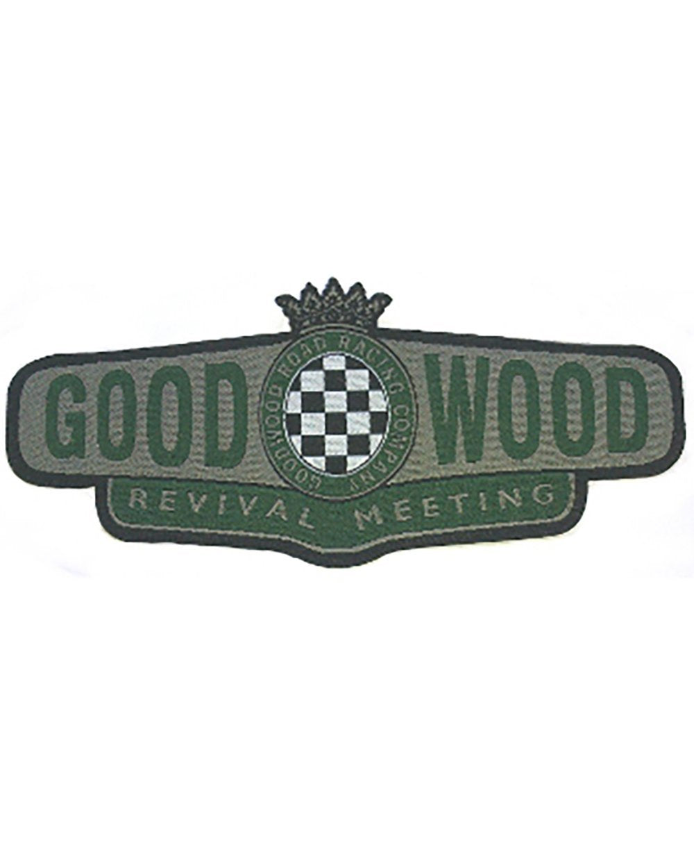 Goodwood Revival Iron On Badge