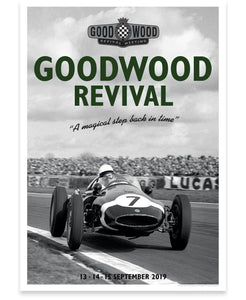 Goodwood Revival Official 2019 Stirling Moss Poster