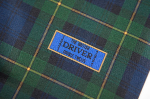 Goodwood Silk Freddie March Gordon Tartan Drivers Scarf Label