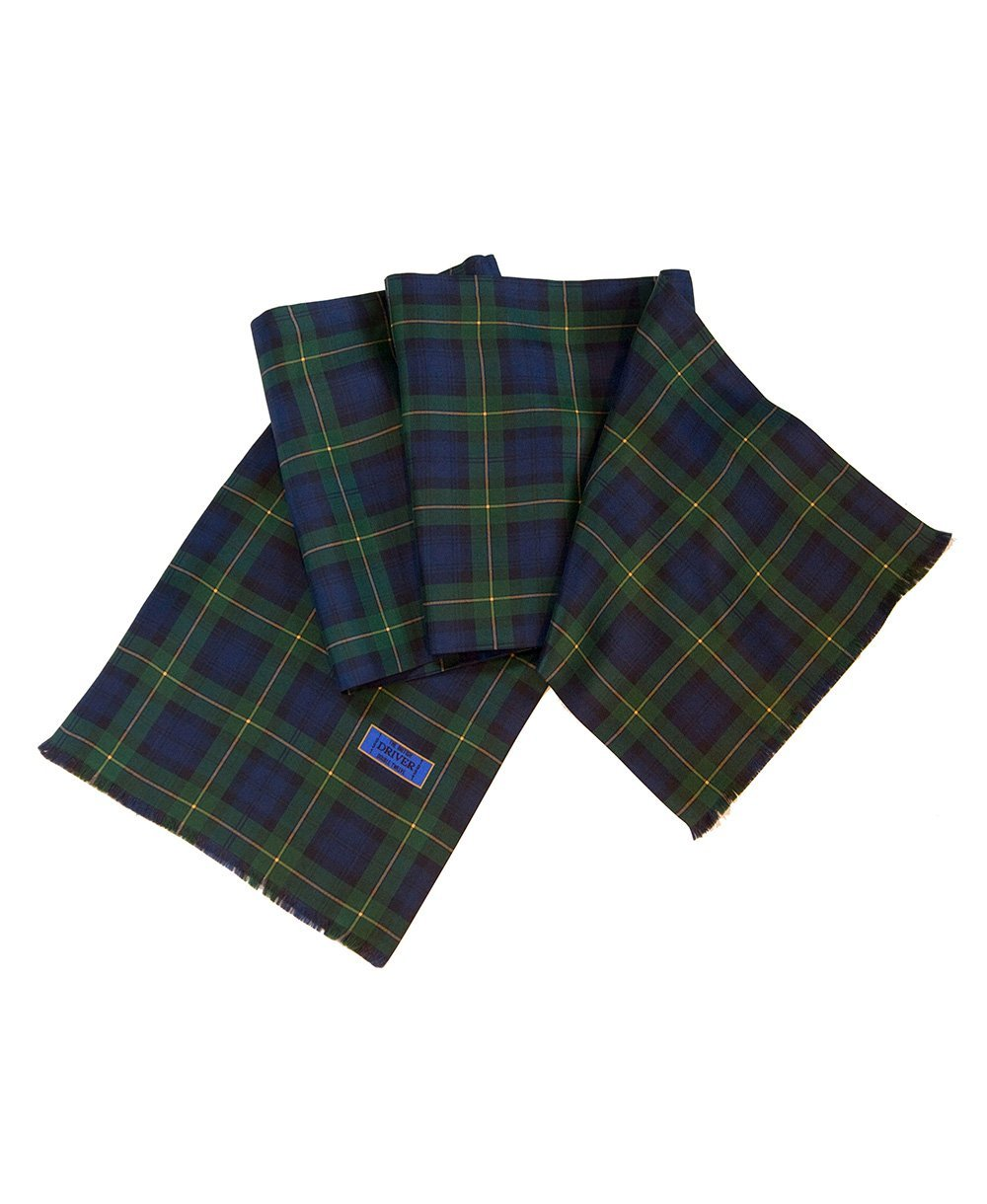 Goodwood Silk Freddie March Gordon Tartan Drivers Scarf