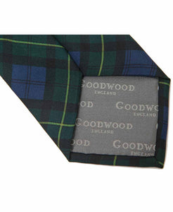Gordon Tartan Silk Tie 100% Silk Back