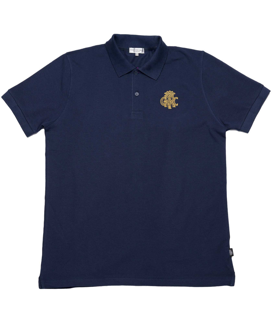 GRRC Members Navy & Purple Cotton Mens Polo Shirt