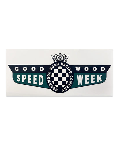 Limited Edition SpeedWeek Sticker