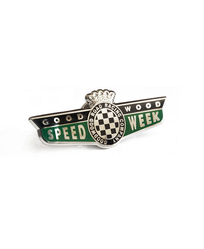 SpeedWeek Enamel Pin Badge