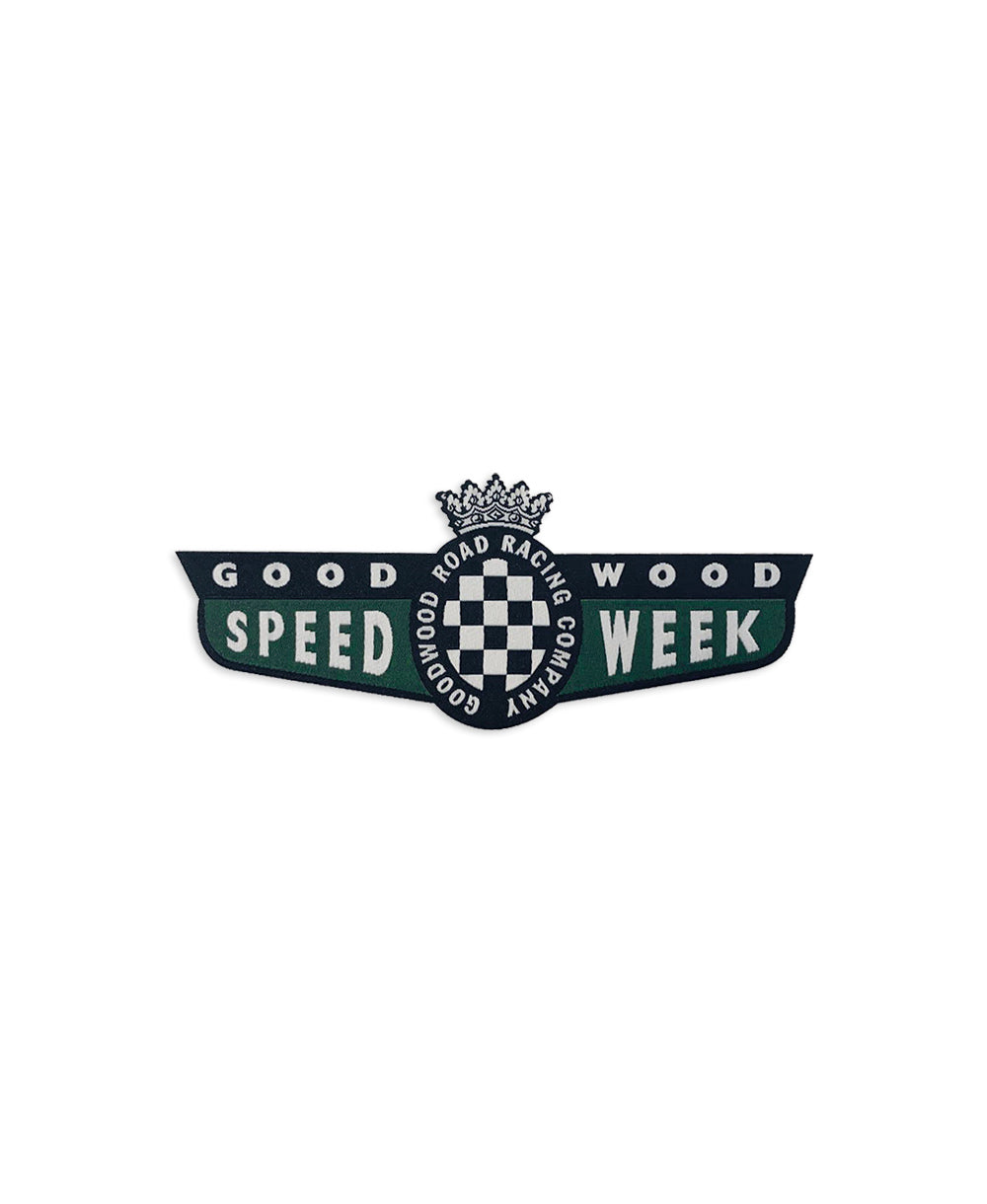 Limited Edition SpeedWeek Iron on Badge