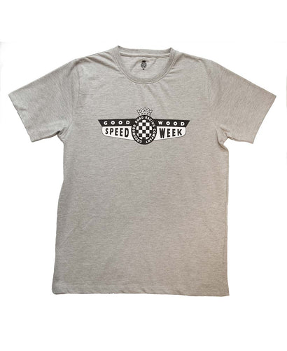 SpeedWeek Grey T-Shirt Mens