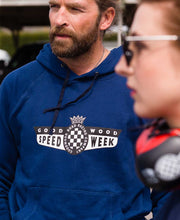Load image into Gallery viewer, SpeedWeek Hoody Navy Unisex