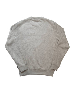 SpeedWeek Sweatshirt in Melange Grey Back