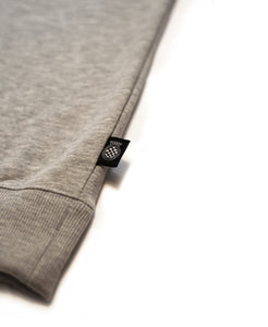 SpeedWeek Sweatshirt in Melange Grey Label