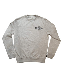SpeedWeek Sweatshirt in Melange Grey