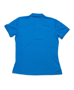 Racecourse Ladies Stretch Polo Blue