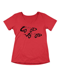 Twin Cars Ladies T-Shirt