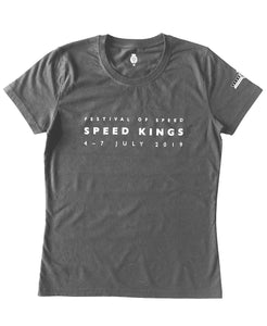Festival of Speed 2019 Grey Women's Dated T-Shirt