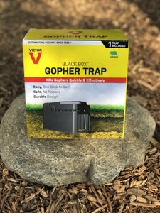 Victor Black Box Gopher Trap