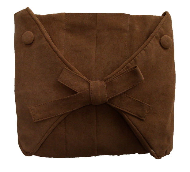 Brown Microsuede Slip Cover