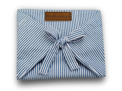 Blue & White Stripe - Slip Cover