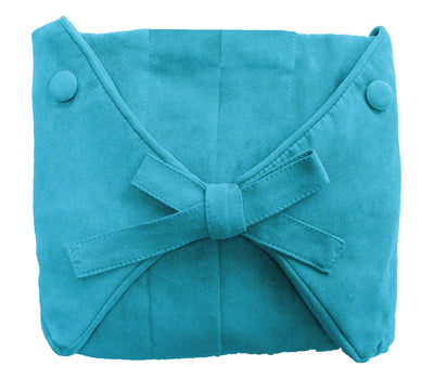 Traditional Teal Microsuede - Slip Cover