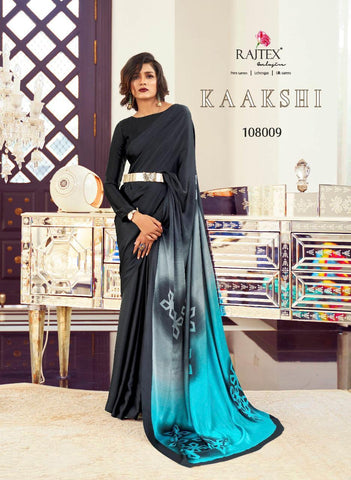Japan Satin Crepe Saree Kaakshi 108009