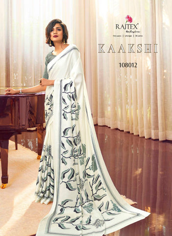 Japan Satin Crepe Saree Kaakshi 108012