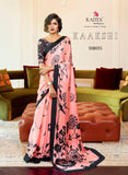 Japan Satin Crepe Saree Kaakshi 108015
