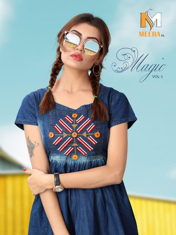 Magic Vol 1 Top By Merali Silk Mills (Set of 6 Pcs)