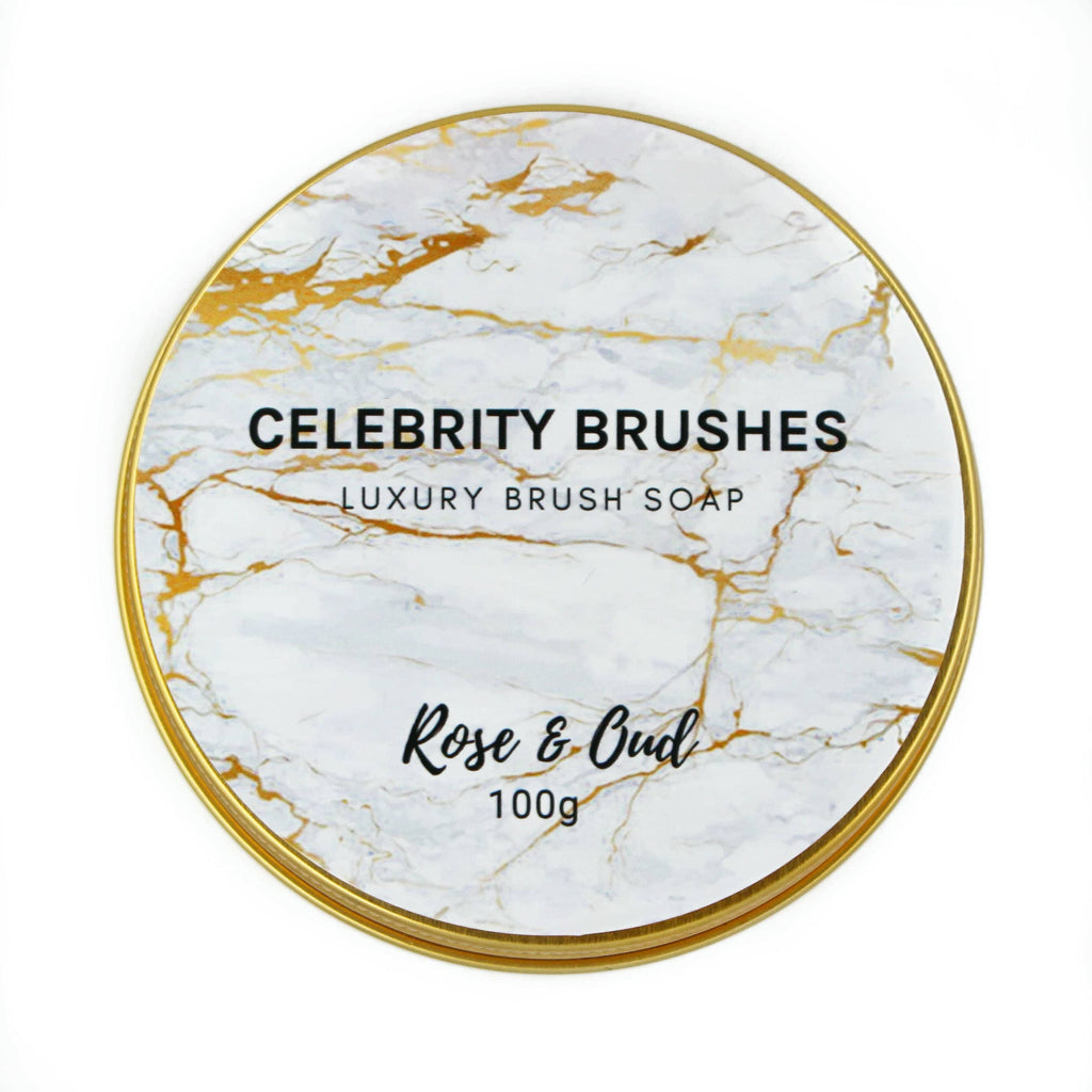 Rose & Oud Luxury Brush Soap