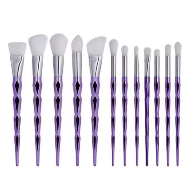 Amethyst Brush Collection - Full 12 Piece Set