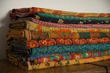 Load image into Gallery viewer, Vintage Kantha Bed Throw