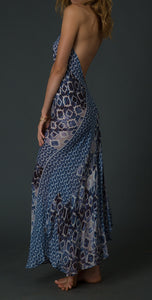 100% cotton ikat dress