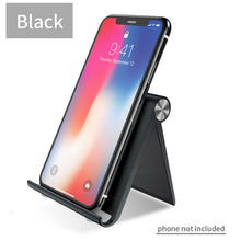 Load image into Gallery viewer, Rexxar Phone Holder Stand Mobile Smartphone Support Tablet Stand for iPhone Desk Cell Phone Holder Stand Portable Mobile Holder