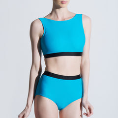 Lily two piece set boat neck high waisted brief Balletto Body