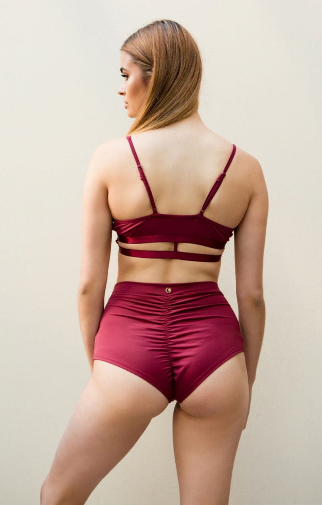Bella Top Wine Luna Polewear