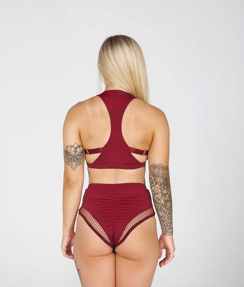 Isla Top Burgundy Tatiana Active Wear