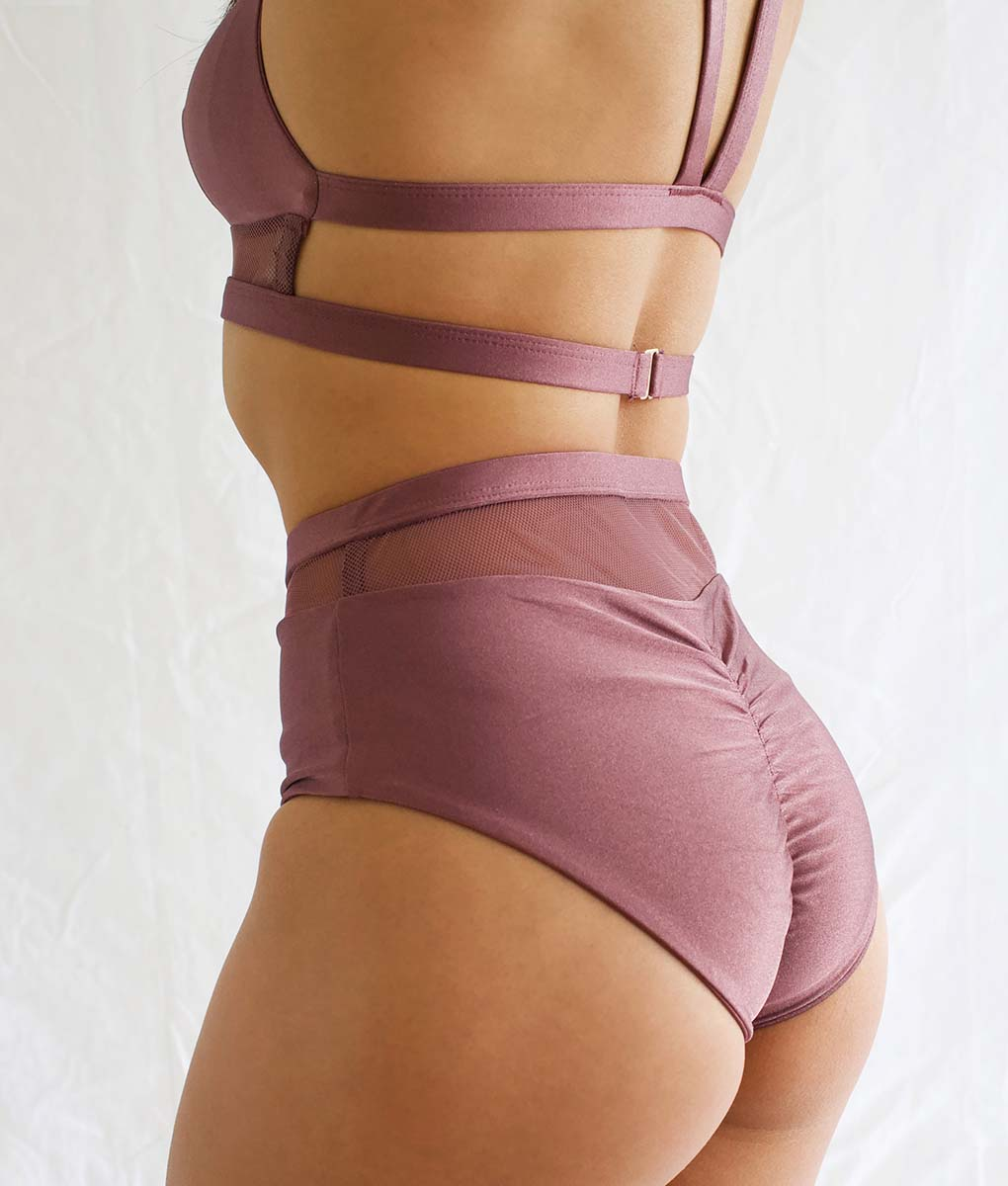 Lucia Top Mauve Tatiana Active Wear