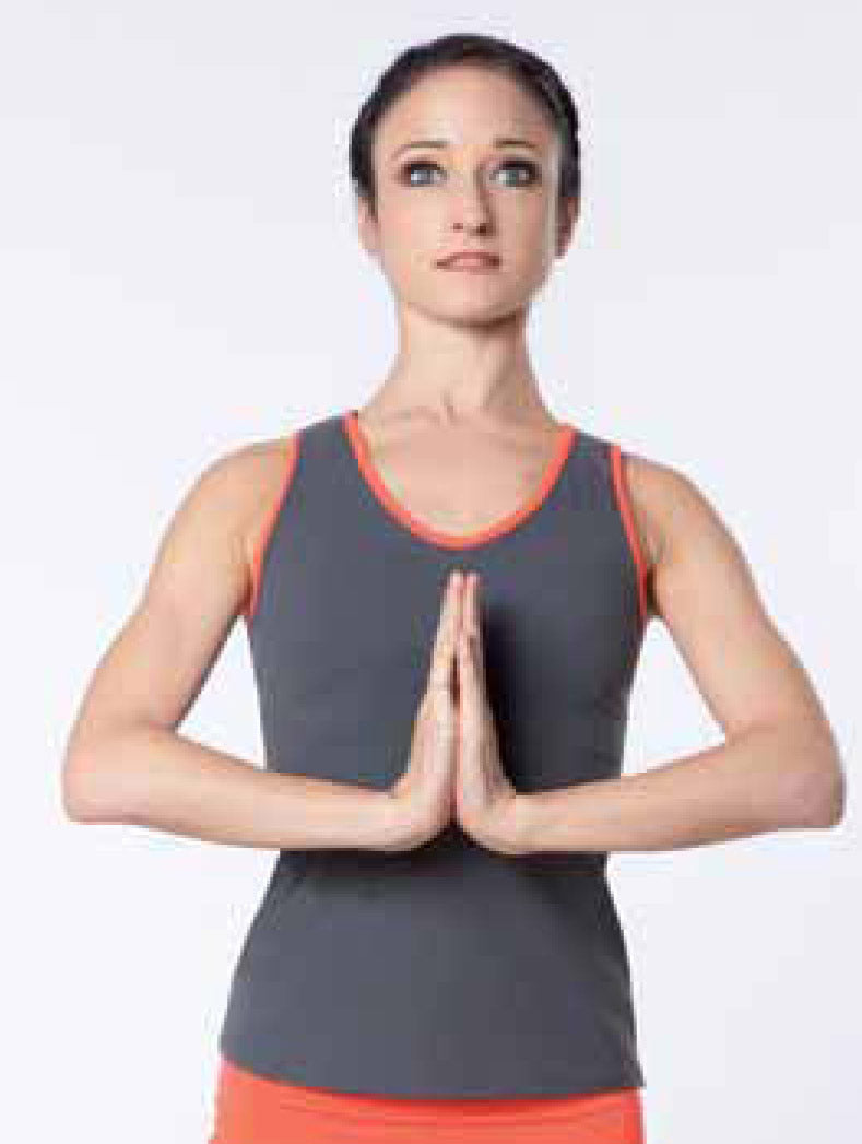 TankTop Camsupbi grau-orange Intermezzo