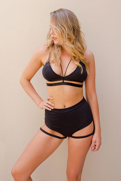 Bella Top Black Luna Polewear