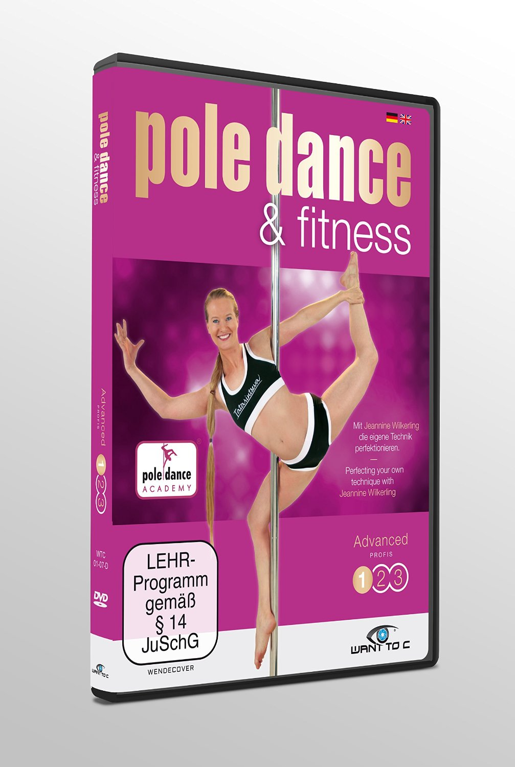 Pole dance & Fitness DVD Advanced