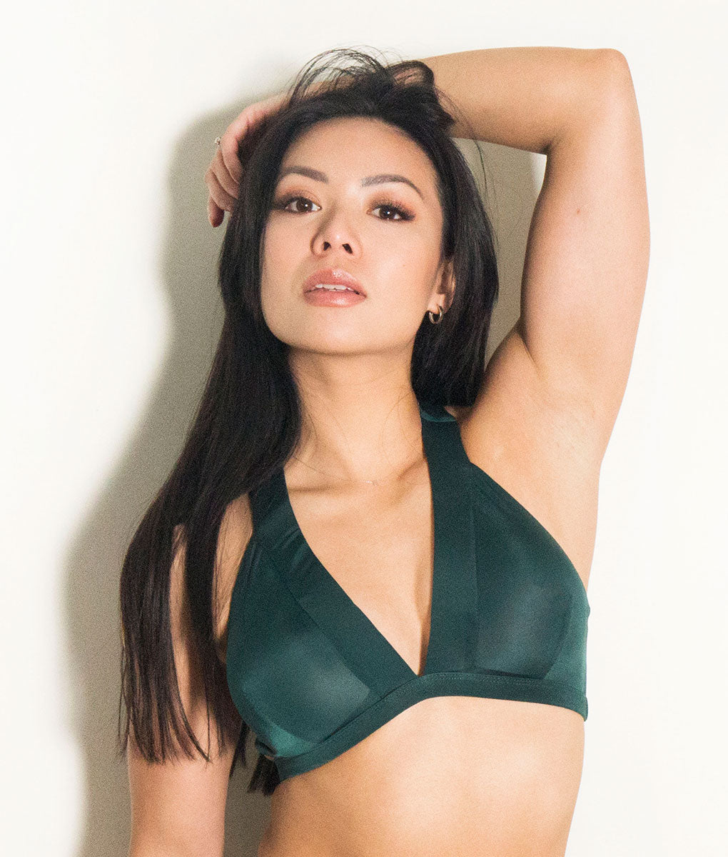 Isla Top Forest Green Tatiana Active Wear