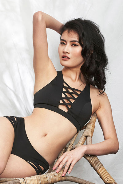Alexi Top Black Luna Polewear
