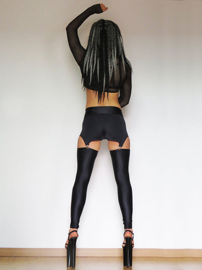 Provocative Mind Leggings Black Sorte