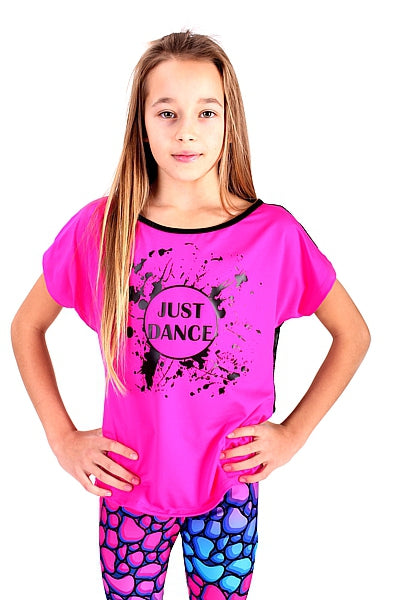 JUST DANCE Kids Shirt pink