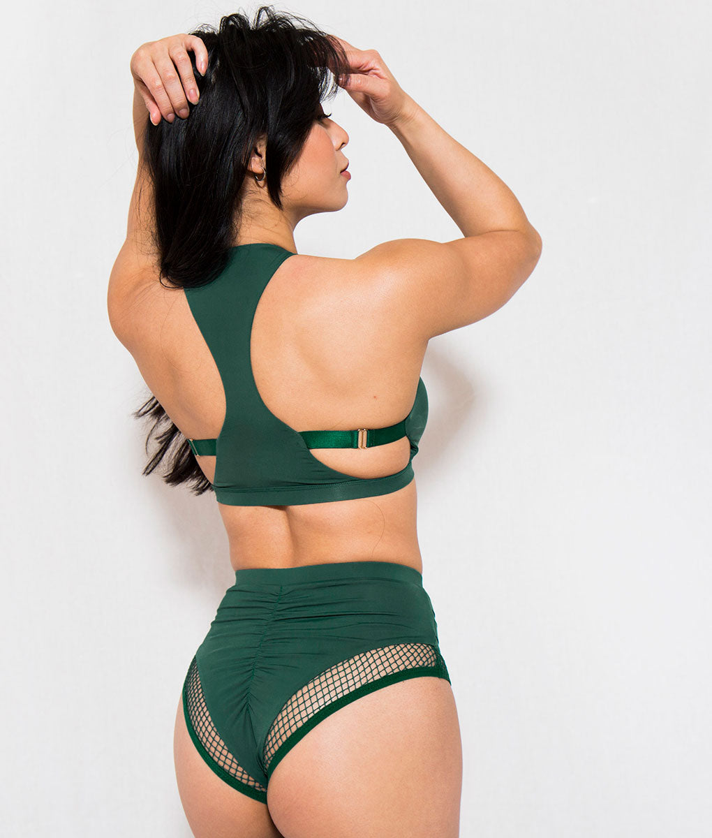 Isla Short Forest Green Tatiana Acitve Wear
