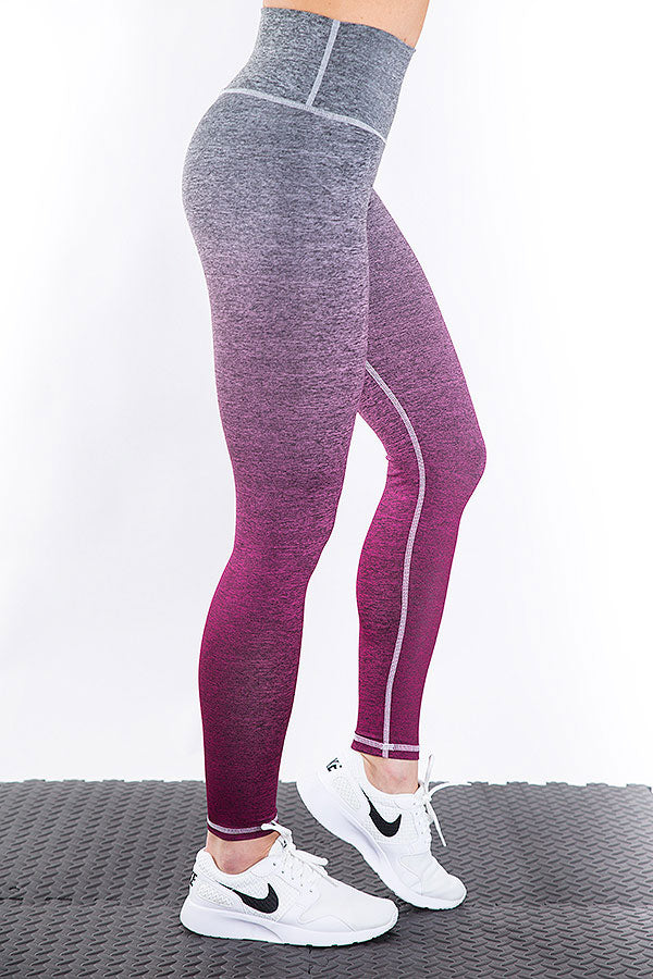 OMBRE Pink Leggings 2Skin