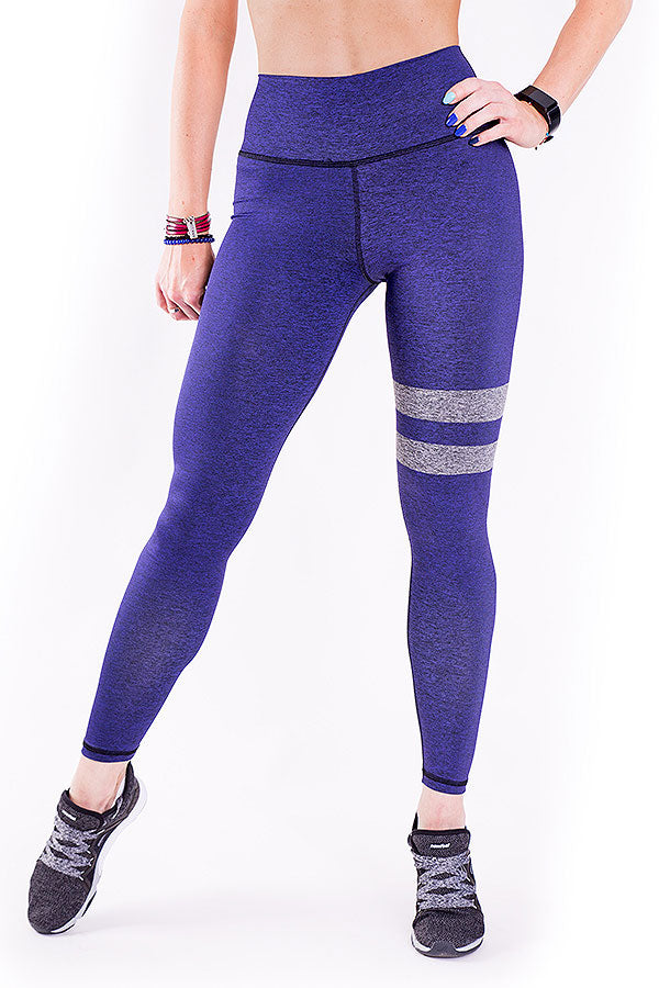 OMBRE SPRINT Leggings Navy 2Skin