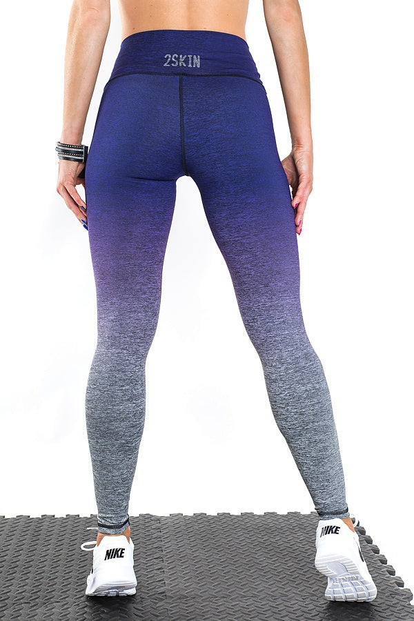OMBRE Navy Leggings 2Skin