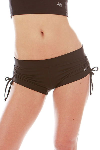 Lucia Short - No Drawstring schwarz Mika Yoga Wear