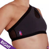 Shoulder Mount Top Rechts grau-schwarz Bad Kitty